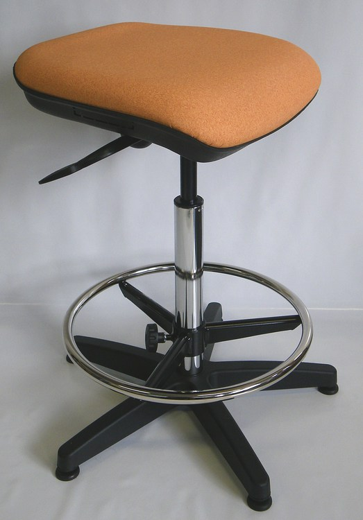 tabouret de laboratoire haut inclinable N29AS