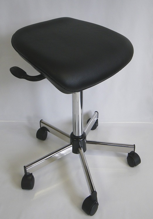 tabouret de laboratoire reglable en inclinaison 29AS