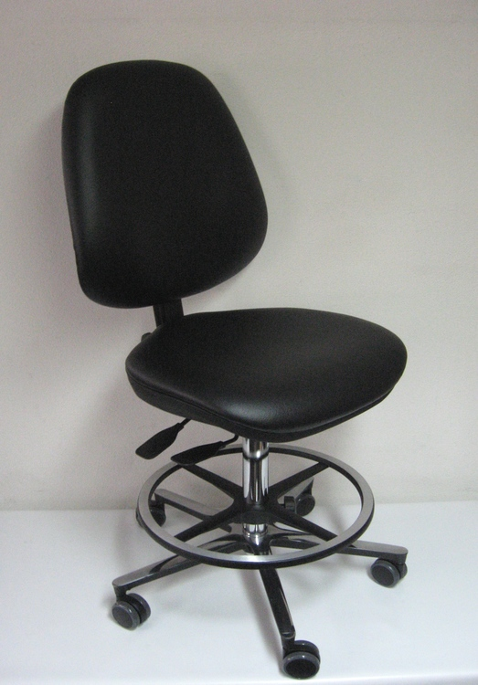 chaise de laboratoire ergonomique usage intensif taverny