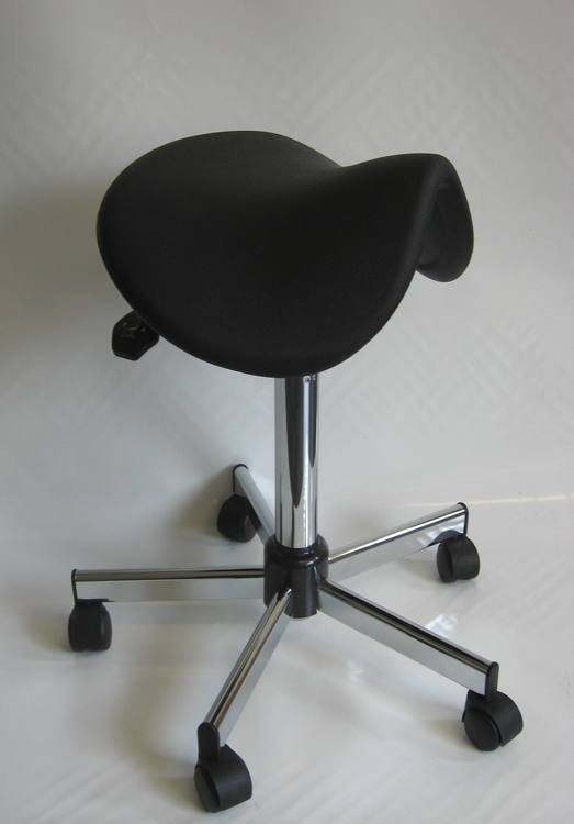 tabouret selle de cheval ergonomique 38as