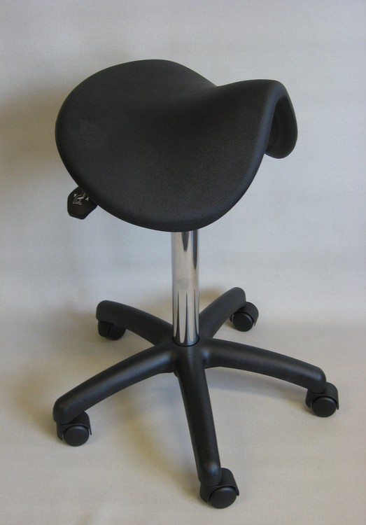 tabouret selle de cheval polyurethane 38as